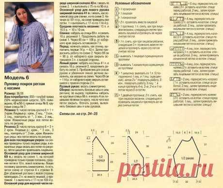 схема женского свитера реглан спицами: 10 тыс изображений найдено в Яндекс.Картинках