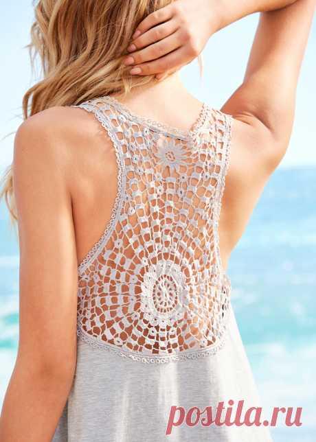 Платье для пляжа серый меланж - RAINBOW купить онлайн - bonprix.ru