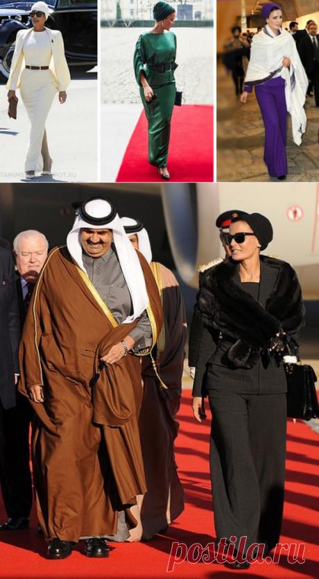 Ее Высочество Шейха Моза — Шахерезада XXI века. Без хиджаба и паранджи.