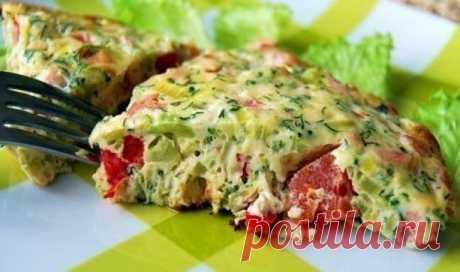 Омлет с овощами — лучший способ питаться правильно!
