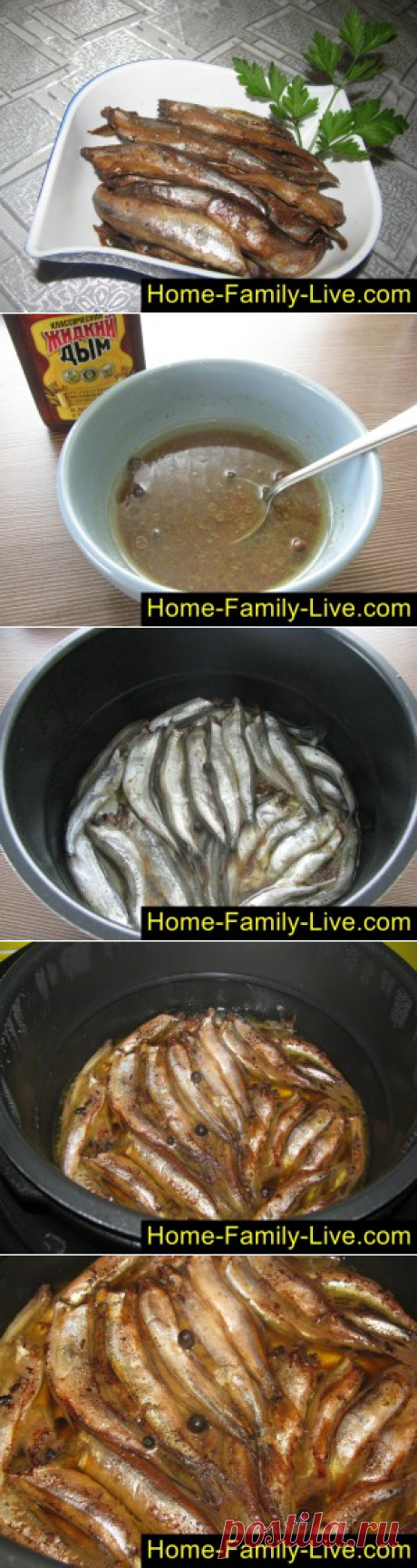 For those who likes to cook sprats in the crock-pot\/website with step-by-step recipes with a photo