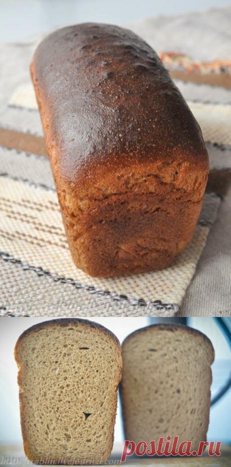 Ржано-пшеничный хлеб с фенхелем и мёдом - Записки кулинарного озорника