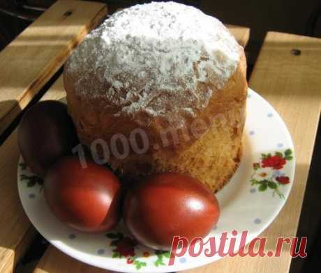 Кулич со сметаной пасхальный рецепт с фото пошагово - 1000.menu