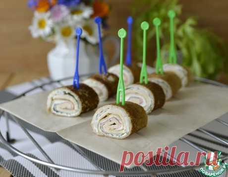 Блинные роллы с крабовыми палочками – кулинарный рецепт