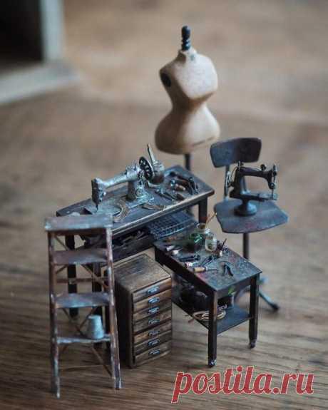 Миниатюрные мастерские (трафик)