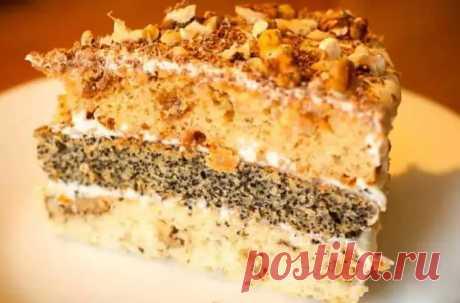 Торт Королевский: вкусный торт с тремя наполнителями и нежным сметанным кремом - Скатерть-Самобранка - медиаплатформа МирТесен