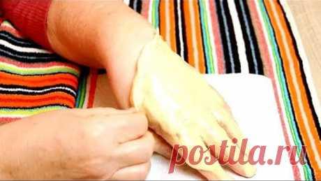Супер способ сделать руки молодыми в 60 лет. Снимаю Старую Кожу