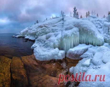 Ладожское озеро, Карелия. Автор фото — Фёдор Лашков: