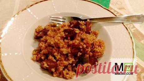 Булгур с говядиной и сладким перцем - кулинарный рецепт. Миллион Меню