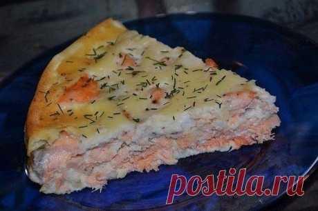 Пирог с рыбой — Sloosh – кулинарные рецепты