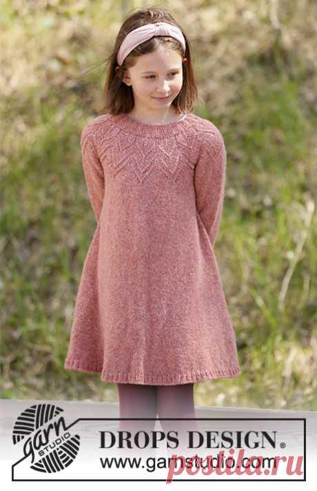 Детское платье Woodland Fairy - блог экспертов интернет-магазина пряжи 5motkov.ru