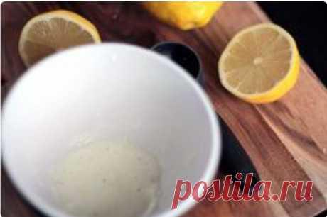 Лимонно-содовая маска для мгновенного очищения кожи вашего лица