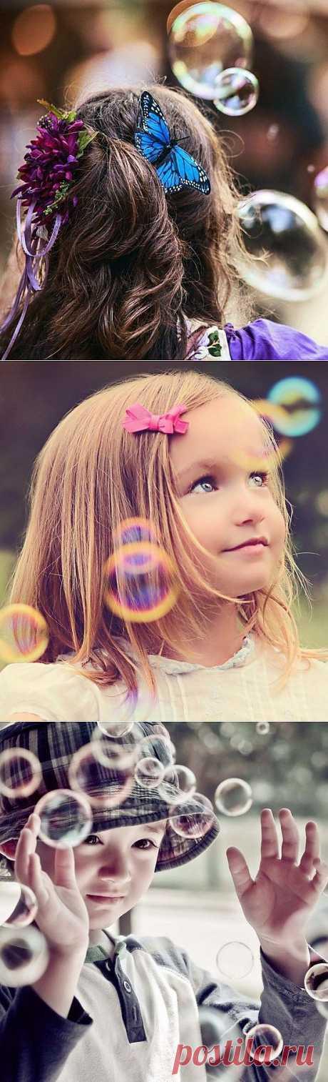 Волшебство мыльных пузырей