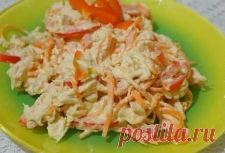 Диетический салат с морковью по-корейски - Советы для тебя