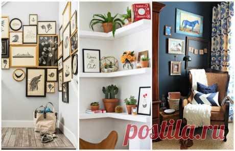 Как сделать полезными и красивыми все углы в доме Пустующие углы — обычное явление для большинства квартир. Еще одна стандартная практика — поставить в угол крупную мебель, хотя при желании для нее можно найти более подходящее место. При таком пренеб…
