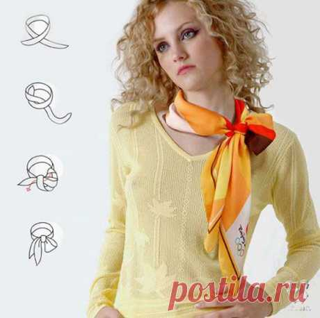 Square scarf: for all occasions