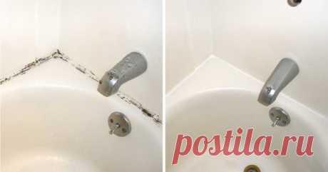 Простой трюк, который поможет избавиться от плесени в ванной. | СОВЕТОФФ | Яндекс Дзен