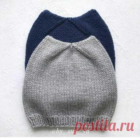 Кото-шапка спицами, описание и схема вязания, Вязание для детей