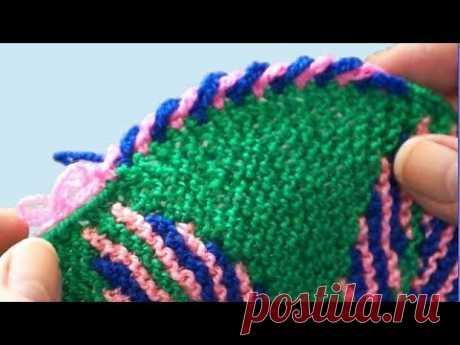 Кайма для пледа. Обвязка края крючком. Кайма крючком. Вязание каймы. Край крючком. (Crochet Edge)