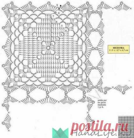 Бабушкин квадрат / Вязание