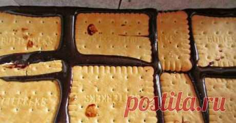 Торт из печенья без выпечки: самый простой и самый шоколадный. Устоять невозможно! В восторге от приготовления и результата.