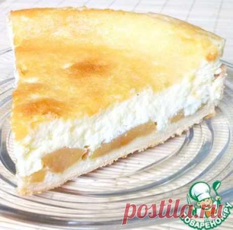 Яблочный пирог под нежнейшей заливкой - кулинарный рецепт