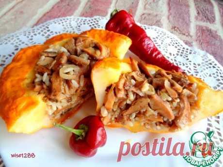 Патиссоны, фаршированные рыжиками – кулинарный рецепт