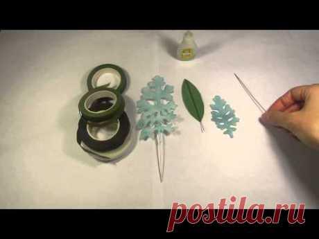 Как изготовить летоны для цветов из фоамирана