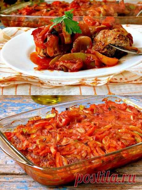 Гречаники с овощным соусом - Леди Mail.Ru