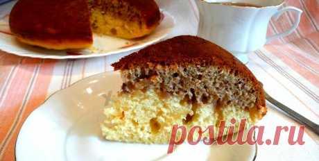 Пирог на кефире в мультиварке с орехами рецепт с фото пошагово - 1000.menu