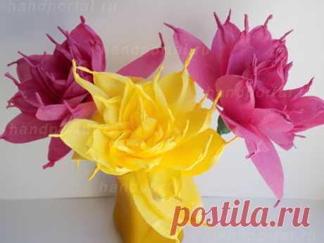Цветы из салфеток своими руками для начинающих и профессионалов — Все, что сделано своими руками