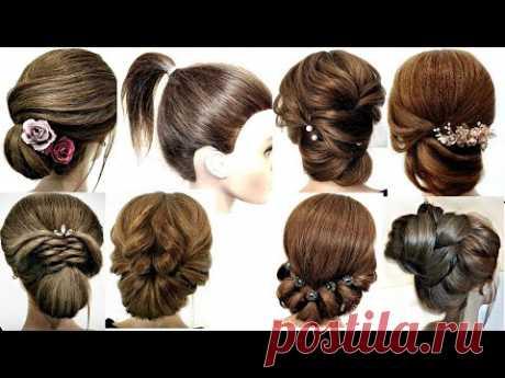 10 COOl HAIRSTYLES FOR SHORT HAIR IN 5 MiNUTES.  10 КРУТЫХ ПРИЧЕСОК ДЛЯ КОРОТКИХ ВОЛОС ЗА 5 МИНУТ.