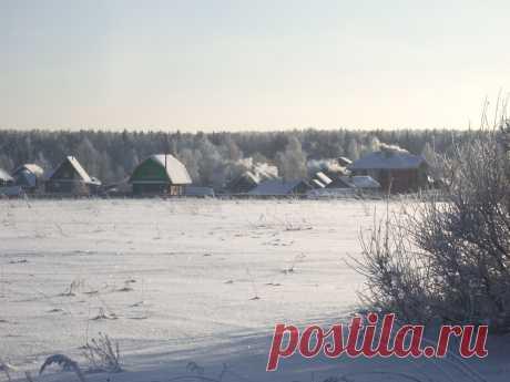 Русская деревенька