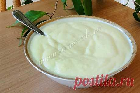 Заварной крем, рецепт с фото. Как приготовить заварной крем?