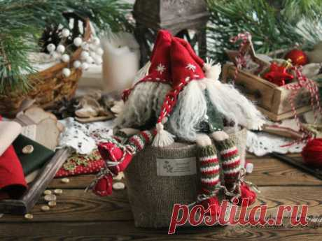 Мастер-класс смотреть онлайн: Шьем рождественского гномика