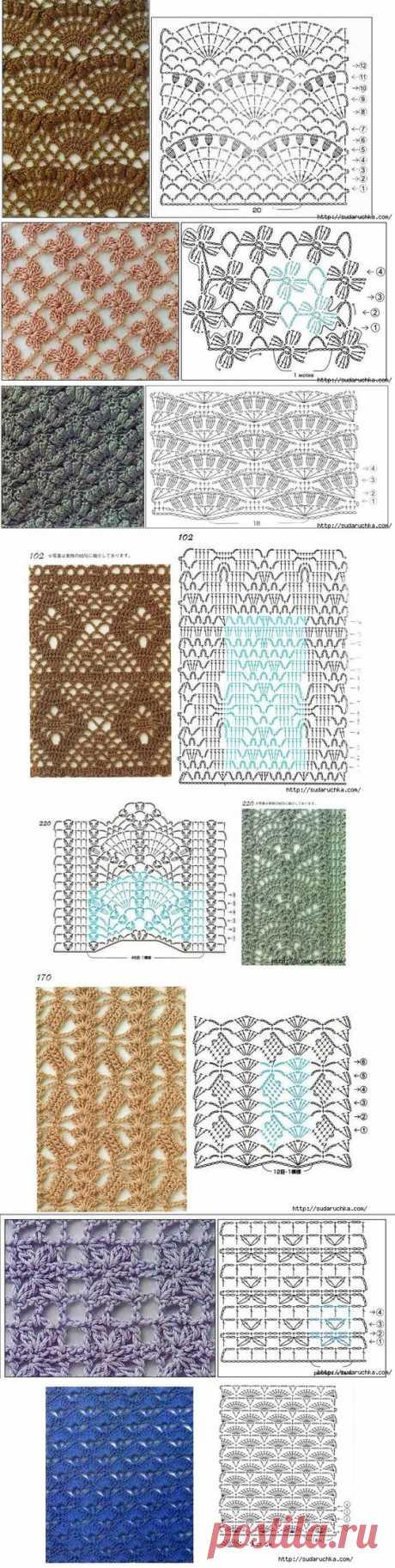 Ganchillo Crochet Patrón Esquema Diagrama | Crochet