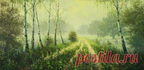 Belohvostov Mijaíl. Los cuadros del pintor.