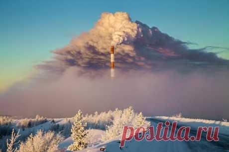"\""Again someone smokes\"". Komi Republic. The author of a photo is Anatoly Hlopotnyuk: nat-geo.ru\/photo\/user\/215941\/"