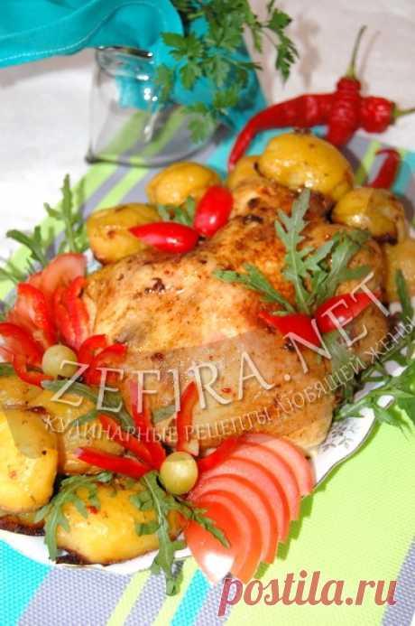 Вкусная курица с картошкой в рукаве — Кулинарные рецепты любящей жены