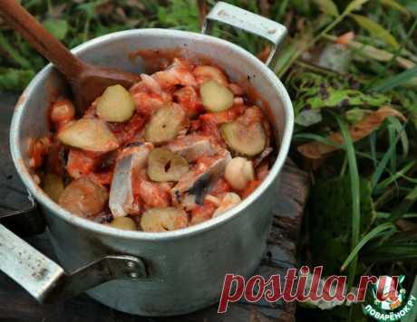 Селедка по цыгански – кулинарный рецепт
