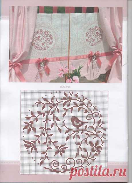 Zadana Sosnina - Симпатична ідея прикрасити фіранки!