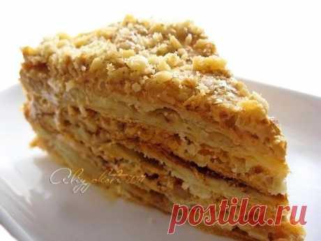 """Торт """"Королевский Наполеон"""" от АЛИИ!!!."""