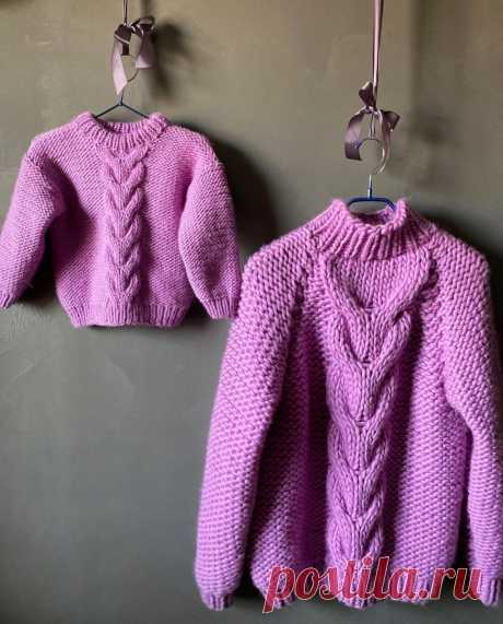 Красивый свитер для ребёнка ! БЕСПЛАТНОЕ ОПИСАНИЕ 💕   Wool&Mania   Яндекс Дзен