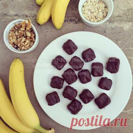 Полезные веганские конфеты с грецкими орехами | LikeLida.com