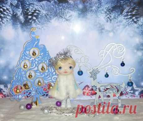 АВТОРСКИЕ КУКЛЫ И ТЕДДИ 👸🐘 в Instagram: «Новогоднего настроения Вам в ленту. Ёлочки и снегурочка могут стать вашими. Ёлки двусторонние, одна сторона цветная (зелёная, красная…»