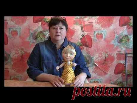 мастер класс на куклу из капрона и синтепона