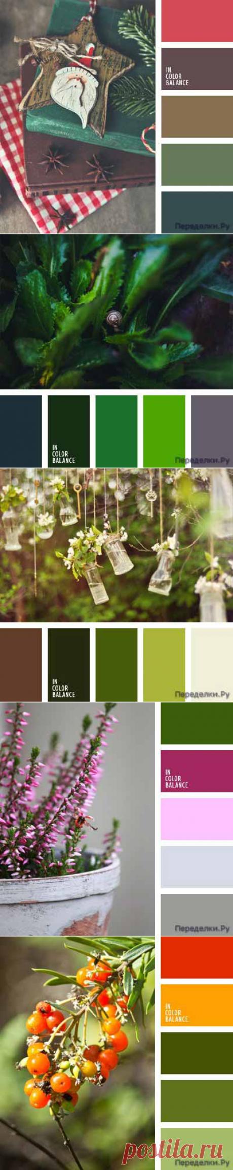 Сочетание зеленого цвета 3 | ПЕРЕДЕЛКИ.рУПЕРЕДЕЛКИ.рУ