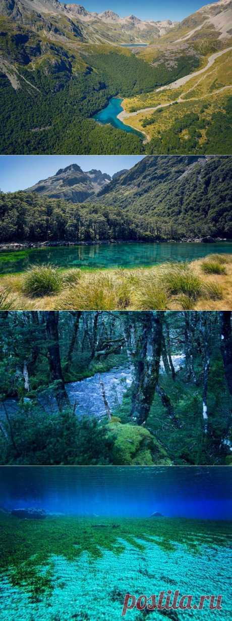 (+1) тема - Самое чистое в мире озеро | ТУРИЗМ И ОТДЫХ