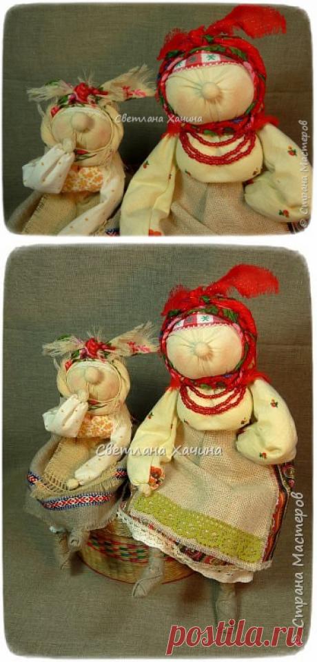 ХарАктерные бабуськи (народная кукла) | Страна Мастеров