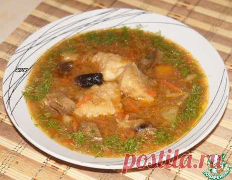 Щи с рыбой по-русски – кулинарный рецепт